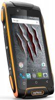 myPhone Hammer AXE M LTE - z przodu (pomarańczowy)