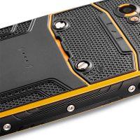 myPhone Hammer AXE M LTE - widok z tyłu (pomarańczowy)