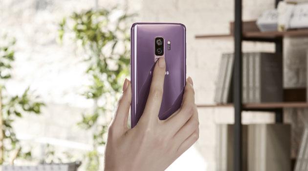 Smartfon Samsung Galaxy S9+ (plus) - zdjęcie
