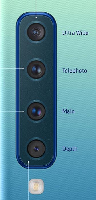 Samsung Galaxy A9 - poczwórny tylny aparat