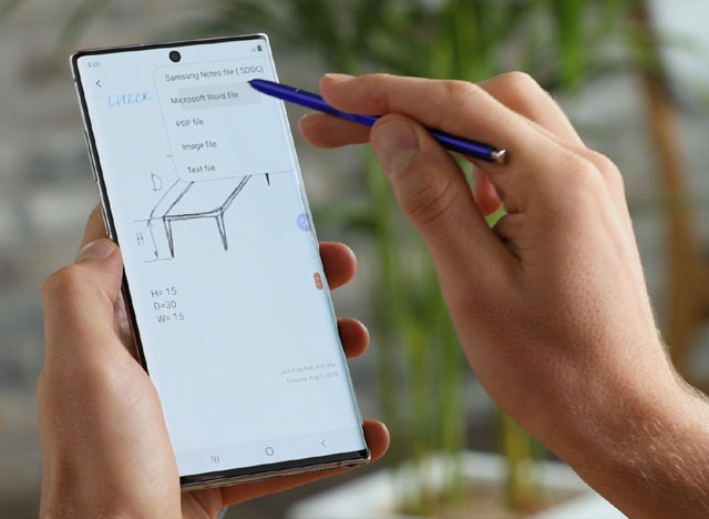 Nowy Galaxy Note 10