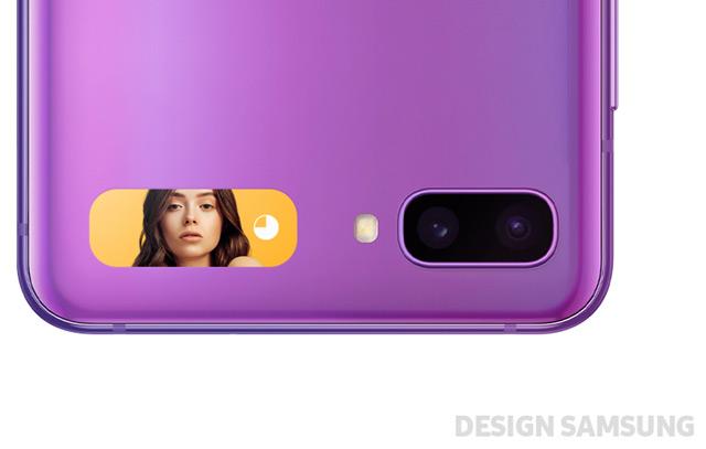 Samsung Galaxy Z Flip (wyświetlacz zewnętrzny)