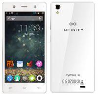 myPhone INFINITY 3G - widok z przodu i tyłu