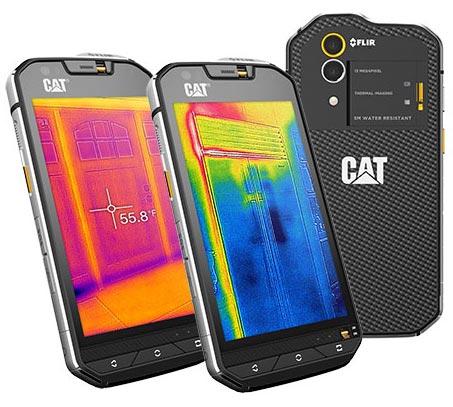 kup tanio odebrane 100% autentyczny CAT S60 - wytrzymały smartfon z kamerą termowizyjną