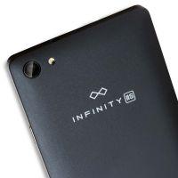 Smartfon myPhone Infinity 2s - widok z tyłu (czarny)