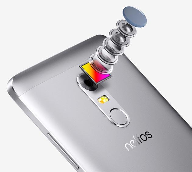 Smartfony Neffos X1 - tylna kamera