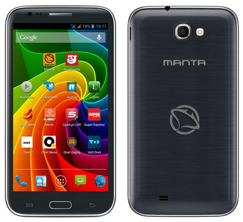 Smartfon Manta Quad Titan MS5801